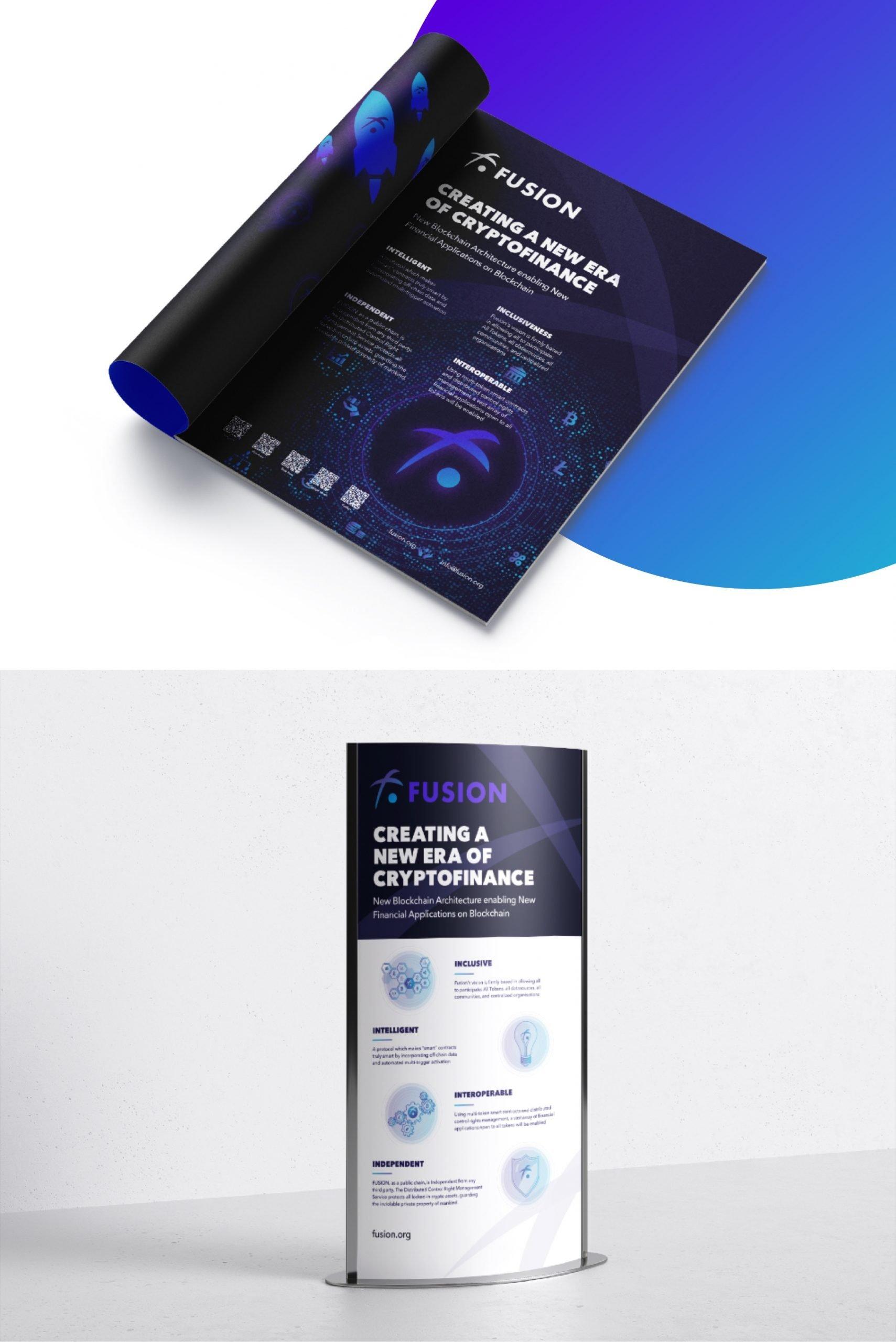 Fusion branding by hello.