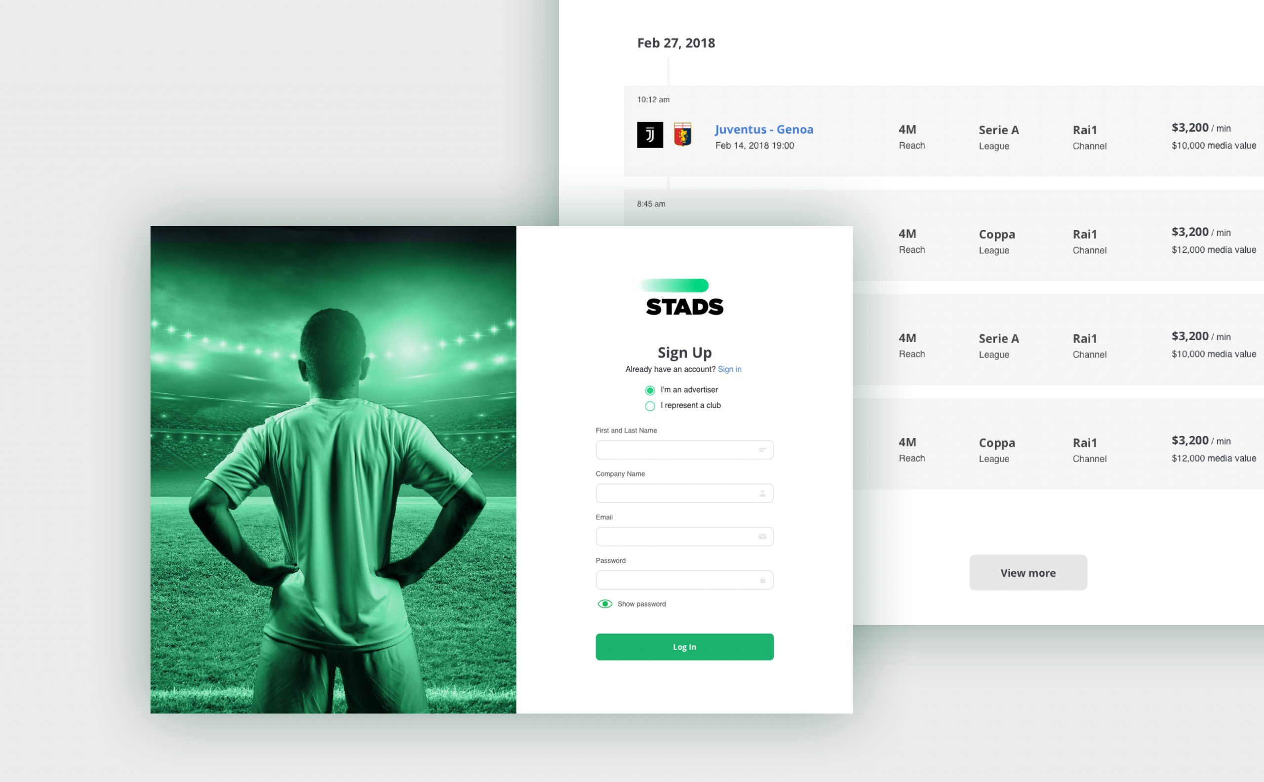 Stads branding and product design by hello.