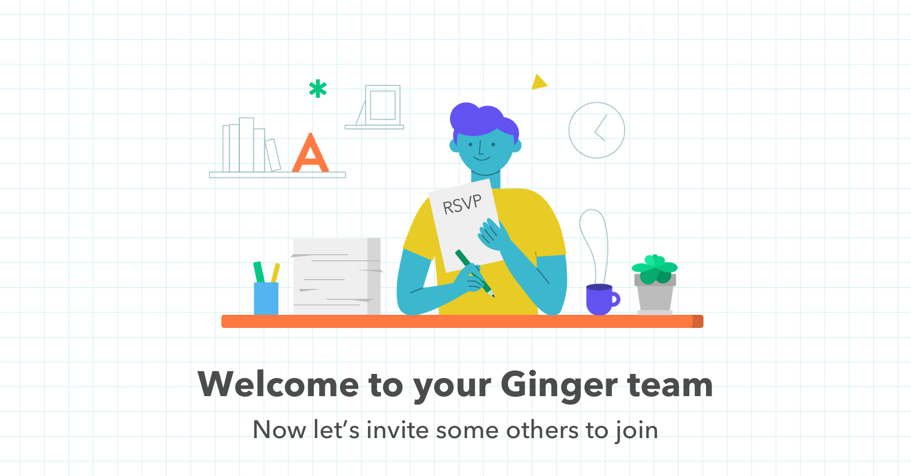 Ginger marketing and product elements